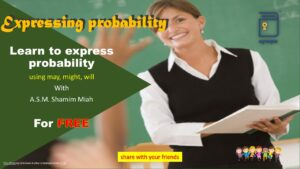 Express Probability in English