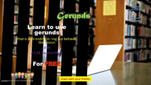 Learn Gerunds